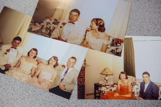 Photos from two high school dances that Bob Harvey and Annette Callahan attended their junior year of high school were recently found on an undeveloped roll of film. The couple who split in high school have reconnected after 63 years and plan to be married in October.