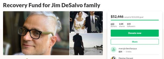 A GoFundMe was set up for James DeSalvo.