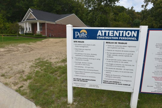 Pulte's instructions for its construction personnel at Grandview Estates.