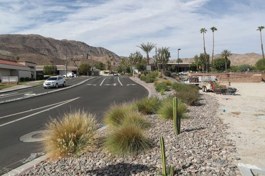 A proposed In-N-Out drive restaurant may be built here at the intersection of Magnesia Falls and Highway 111 in Rancho Mirage, Calif., September 25, 2019.