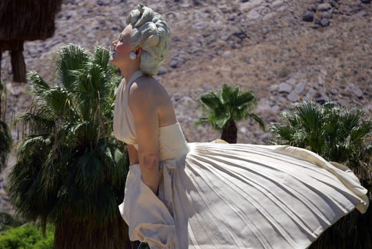 "The ""Forever Marilyn"" statue is seen on Tuesday, July 24, 2012, in Palm Springs."