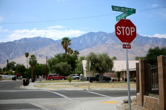 A man's body was found Wednesday, September 25, 2019 on the 30-900 block of San Gabriel Circle in the Dream Homes community in Cathedral City, Calif., police said.