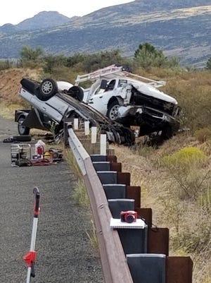 Head-on collision near Skull Valley on Sept. 24, 2019