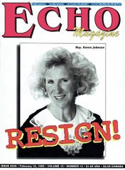 Echo magazine celebrates its 30th year of publication.