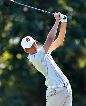 Central York's Alex Gekas, seen here in a file photo, fired a 1-under-par 71 on Monday at Out Door Country Club.