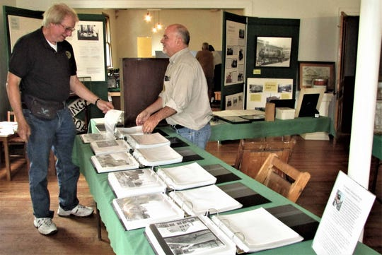 The Ma & Pa Railroad Heritage Village at Muddy Creek Forks will celebrate Heritage Day on Saturday.