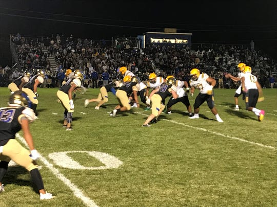 Bishop Manogue beat Reed, 39-21 last week. Manogue is at Spanish Springs and Reed hosts Damonte on Friday.