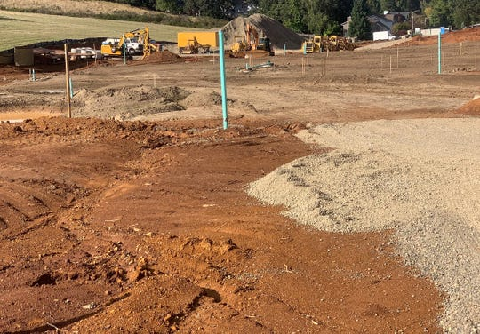 Construction is underway for a new 48-lot subdivision, called Springwood Estates, by Don Lulay Homes off Mildred Lane near Creekside Golf Club in Salem.
