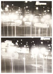 A familiar sight to San Angelo area residents, as cars line Sherwood Way on Friday Aug. 1, 1986. Monitoring weekend activity along the Drag proved to be quite a challenge for the Police Department through the years.