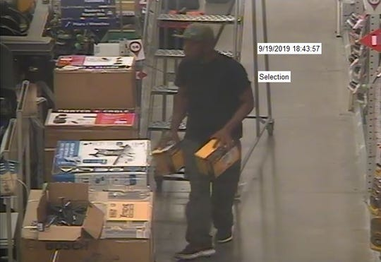 The Shreveport Police Department is asking for help in identifying two men who are suspected of stealing items from Lowes.
