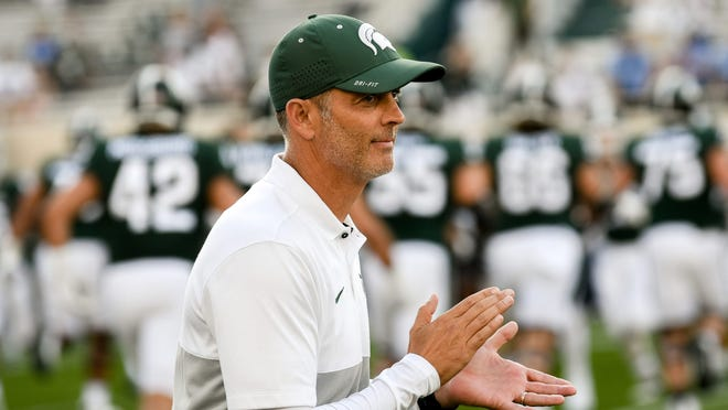 Brad Salem is in his first year as Michigan State's offensive coordinator