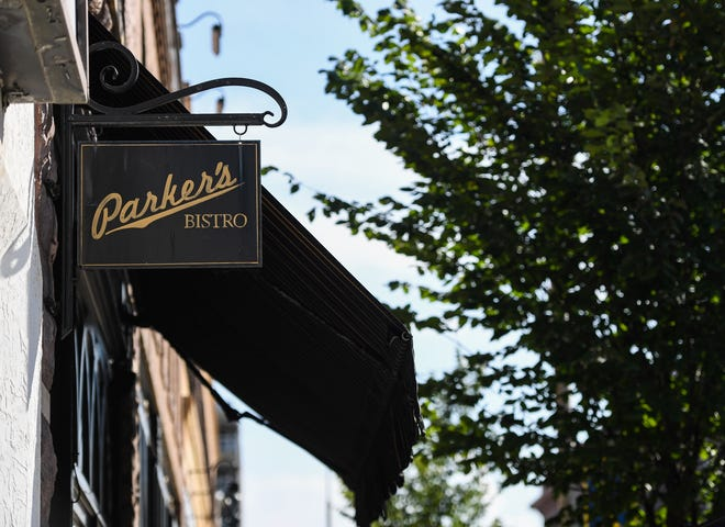 Parker's Bistro is located 210 S. Main Ave.