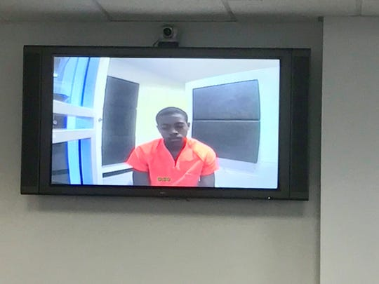 Goidia Porter, 16, had his first appearance Wednesday, Sept. 25, in Leon County Court. He is charged with second-degree murder in the shooting death of De'Quan Davis, also 16.