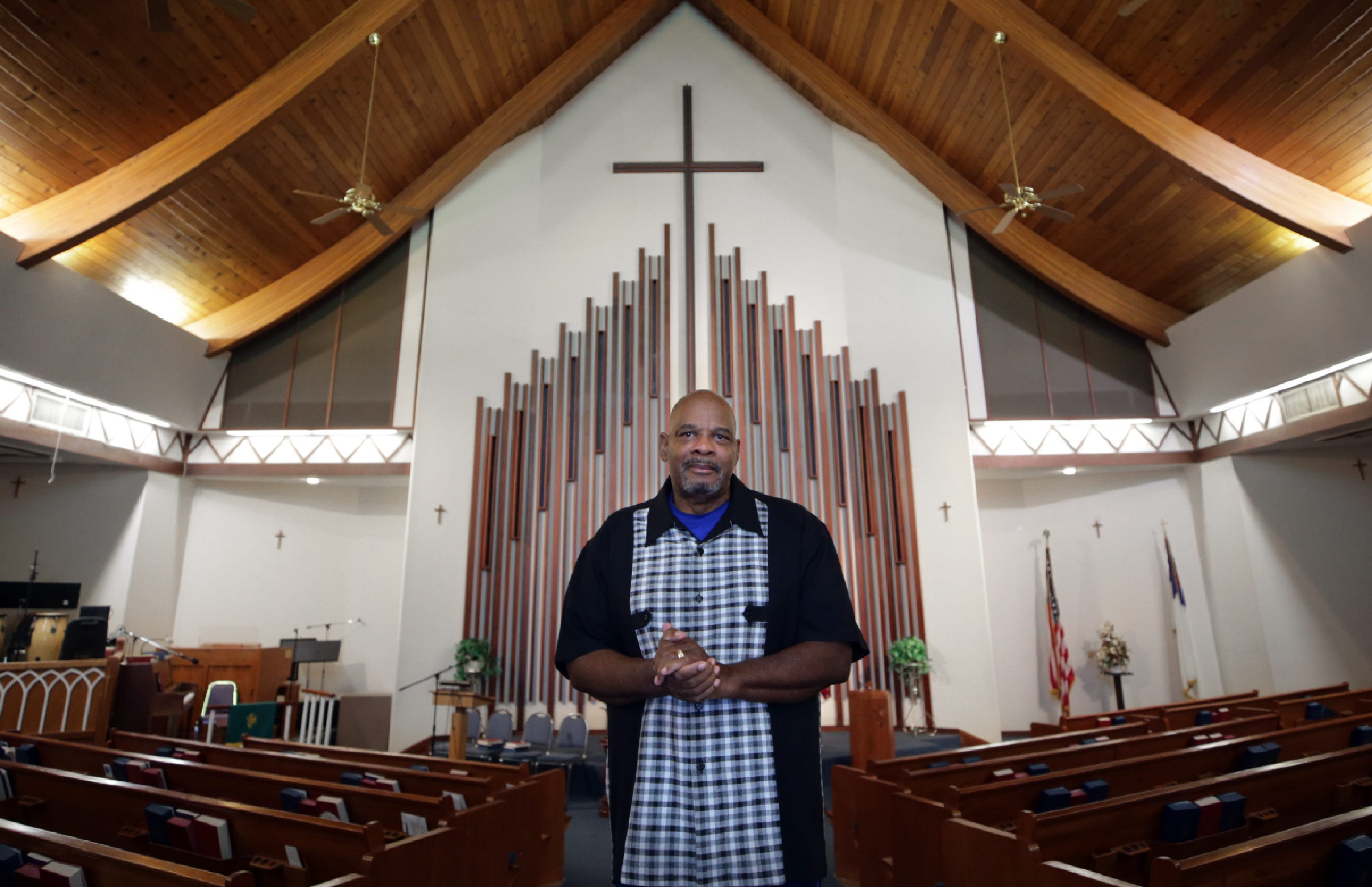 Michael Grady, pastor of Prince of Peace Christian Fellowship, came to El Paso when he was stationed at Fort Bliss. He's a past president of the local NAACP, the oldest in the state, and is currently part of a citizen-led effort to start a police accountability commission.