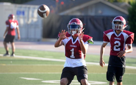 Victor Duran set Santa Paula High records for receptions (107), receiving yardage (1,991), receptions in a game (14), single-season receiving yards (1,140) and single-season touchdown receptions (12).