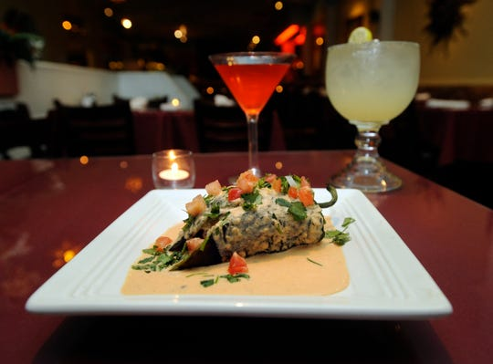 Henry Salazar's Fresh Mex Grill was known for its culinary experimentation over the years, including this goat cheese chili relleno.