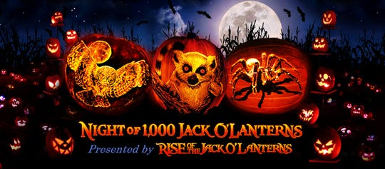 Promo image for Night of 1,000 Jack O'Lanterns.