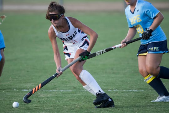Maci Bradford is among the state's top players for Delmar, which earned the No. 1 seed in the DIAA Division II Field Hockey Tournament.