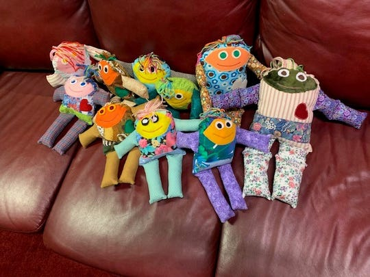 Sacred Heart Mission Council are making dolls to help the hungry children in Guatemala. With the purchase of one of this dolls you will feed 50 children at $0.80 per meal ($40) in Patzun,Guatemala. The goal is to provide one complete meal a day for the 270 children who attend Nuestra Señora del Carmen School.