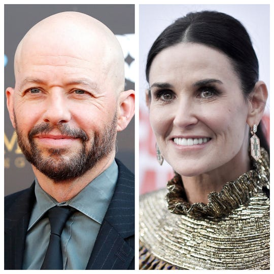 Jon Cryer and Demi Moore