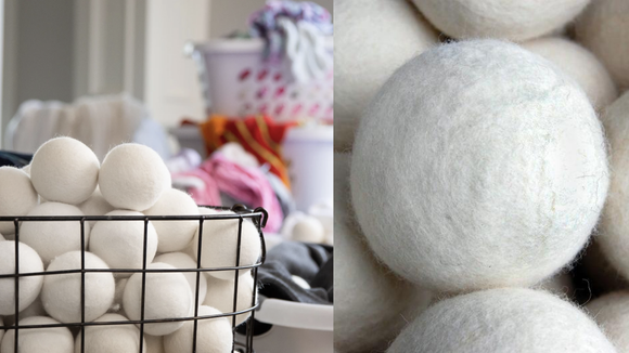 No chemicals make these wool balls friendly for sensitive skin.