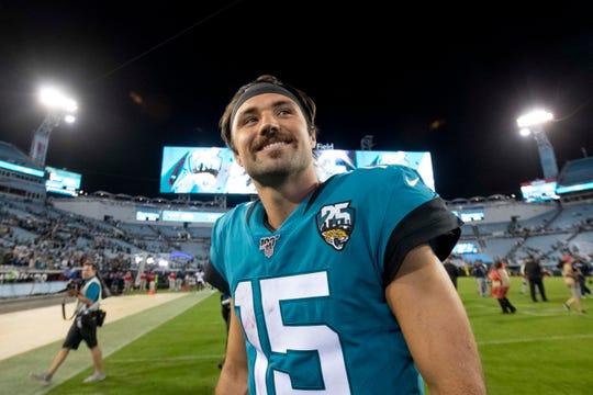 Jaguars quarterback Gardner Minshew threw for 4,779 yards last year at Washington State.