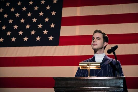 Payton Hobart (Ben Platt) campaigns for student-council president on Netflix's 'The Politician.'