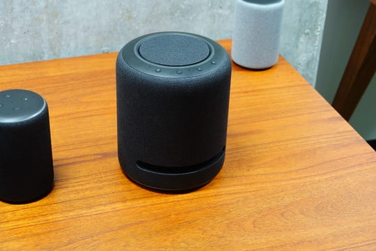 The Echo Studio offers high-end sound for an Alexa speaker, at $199.