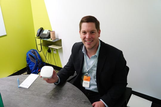 Nick Weaver, the co-founder and CEO of Eero, the company that looks to solve wifi connectivity issues.