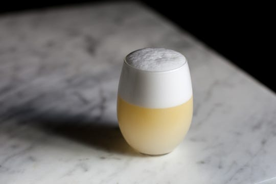 Marvel Bar, Minneapolis: The bar's Oliveto is a variation of a gin sour with the addition of olive oil and egg white, which gives it a frothy, almost silky texture – like a lemon meringue.