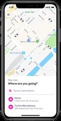 The Lyft app