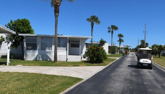 Residents at The Waters, a community of manufactured homes in unincorporated Melbourne Beach, are upset about rent increases on the land that they are are leasing their homes on. The property is owned by Arizona-based Cove Communities.