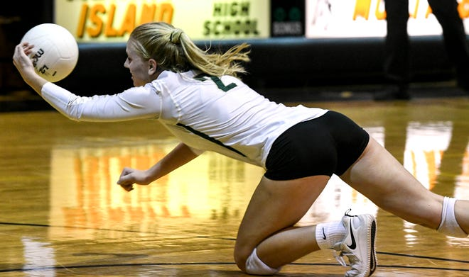 Delaney Lott of Viera is the 2019 FLORIDA TODAY Volleyball Player of the Year