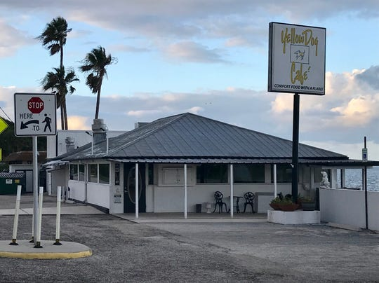 Yellow Dog Cafe on U.S. 1 in Malabar.