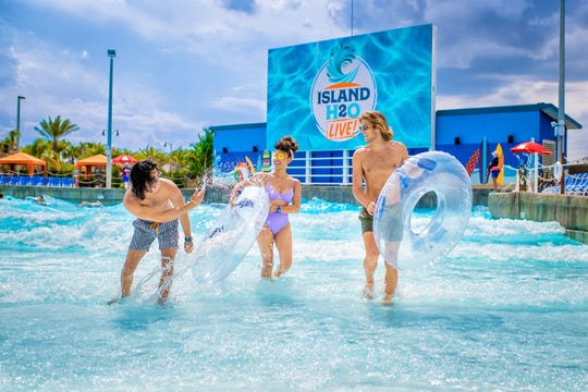 """Experience """"Rock in Rio,"""" one of the world's largest music festivals, from a wave pool right here in central Florida. Island H2O Live! is the only venue in the world that will stream the famous festival."""