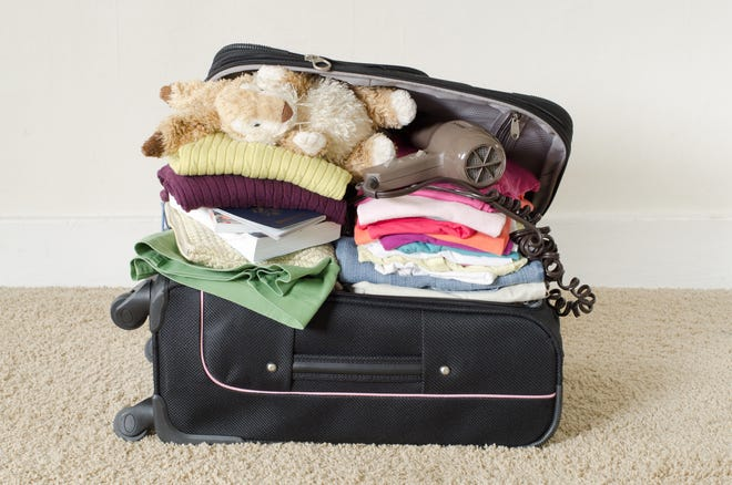 I may not be super organized, but I usually manage to get everything into the suitcase.