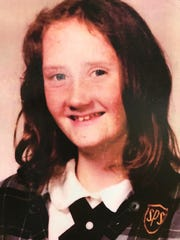 Margaret Fox is pictured in her 1974 school photo.