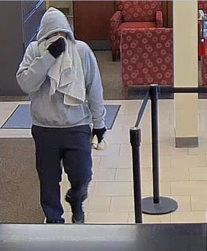 The Camden County Prosecutor's Office and the Brooklawn Police Department are seeking the public's assistance in identifying a man who robbed a bank on Tuesday, September 24, 2019