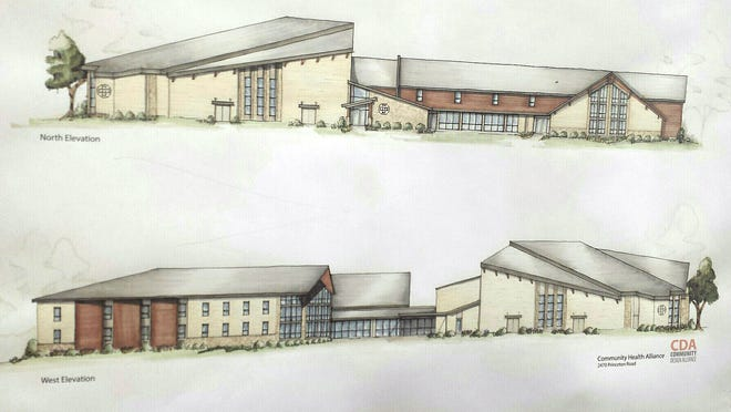 Community Health Alliance wants to construct a 25,000 square foot addition to the New Life Vineyard Church for an in-patient, residential treatment center.