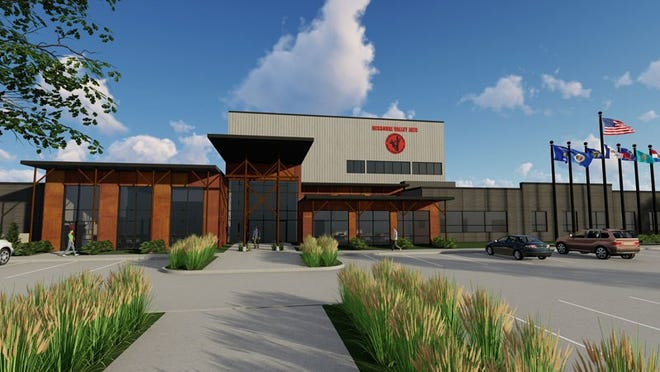 This rendering shows what the Missouri Valley JATC's new primary training center in the Midwest for electrical workers, including linemen and substation technicians, will look like. The center is scheduled to be completed in Sept. 2020.
