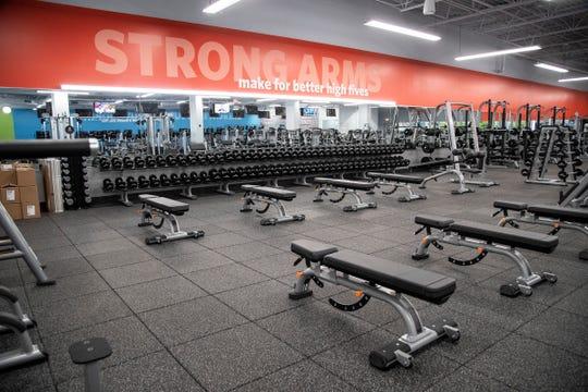 Inside of Blink Fitness in Redford Township, Thursday, Sept. 26, 2019.