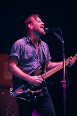 The Black Keys' Dan Auerbach at the Wiltern Theatre in Los Angeles on Sept. 19, 2019.