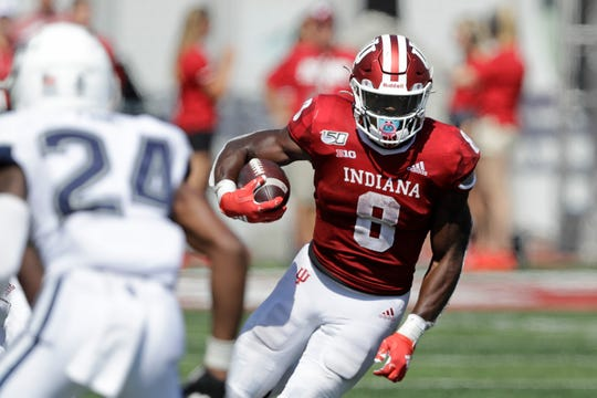Indiana running back Stevie Scott III rushed for 1,137 yards as a freshman.