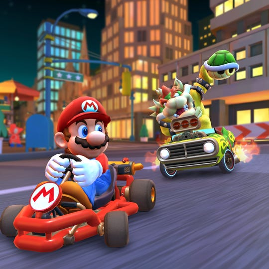Mario Kart Tour, the first Mario Kart game to launch for smartphones, is now available to download on iOS and Android devices