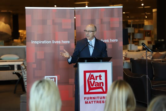 Gary Fazio, Art Van Furniture's new CEO, has visited 60 Art Van stores since taking on his new role. The former mattress industry leader came out of retirement to lead Art Van.
