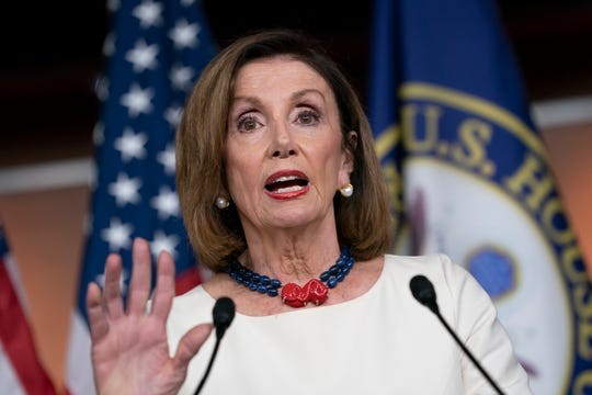 Speaker of the House Nancy Pelosi, D-Calif.