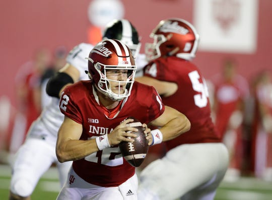 Quarterback Peyton Ramsey has started the last two games for Indiana, replacing  the injured Michael Penix Jr.