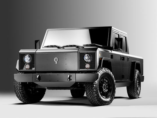 The Bollinger Motors B2 electric truck  will be available only as 4-door version at first.