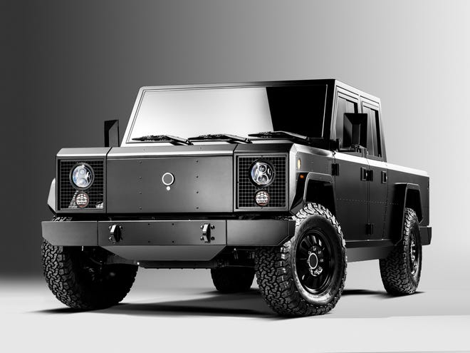 The Bollinger B2 electric truck .