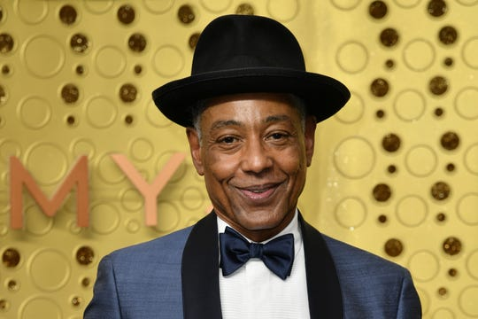 Giancarlo Esposito arrives at the 71st Primetime Emmy Awards on Sunday, Sept. 22, 2019, at the Microsoft Theater in Los Angeles.